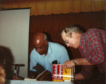 Charlie P. and Joe McQ. at Marathon Key, Florida, 1989